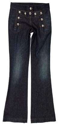 Gucci Mid-Rise Flared Jeans w/ Tags