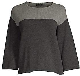 Eileen Fisher Women's Cashmere Wool Boxy Sweater