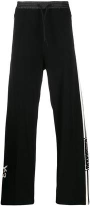adidas Y-3 tech knit wide track trousers
