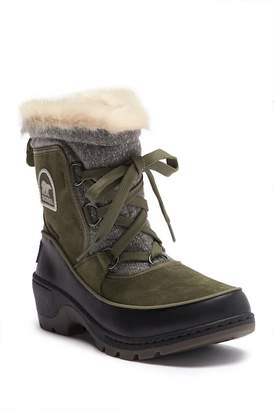 Sorel Tivoli III Knit Faux Fur Boot