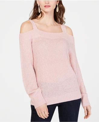 INC International Concepts I.n.c. Cold-Shoulder Sweater