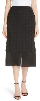 BOSS Moloo Flutter Texture Skirt