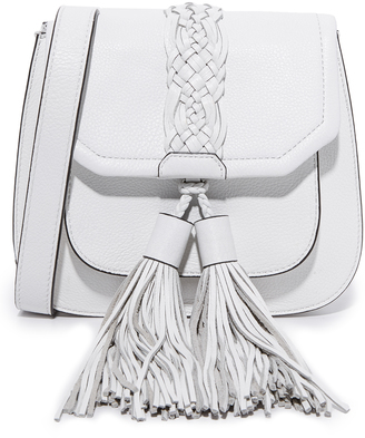 Rebecca Minkoff Isobel Front Pocket Saddle Bag $295 thestylecure.com