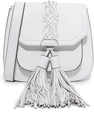 Rebecca Minkoff Isobel Front Pocket Saddle Bag $295 thestylecure.com
