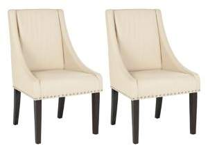 Safavieh Britannia Set of Two Nail Heads Side Chairs
