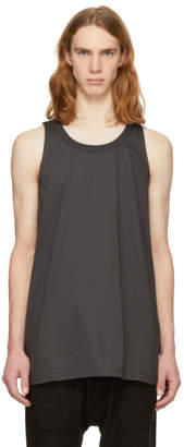 Rick Owens Grey Ricks Tank Top
