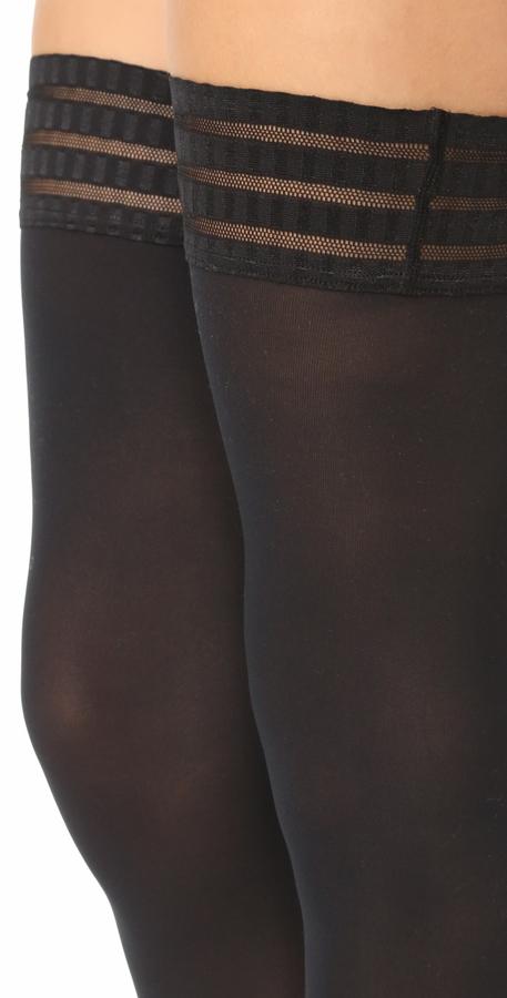 Falke Pure Matte 50 Thigh High Tights