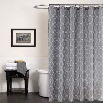 Ställ Hotmiss Pattern Shower Curtains for Bathroom Waterproof/Easy Care Polyester Fabric Curtain Extra Long Size