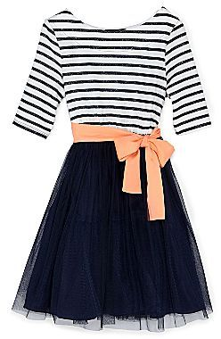 JCPenney Disorderly Kids® Glittery Striped Dress - Girls 4-6x