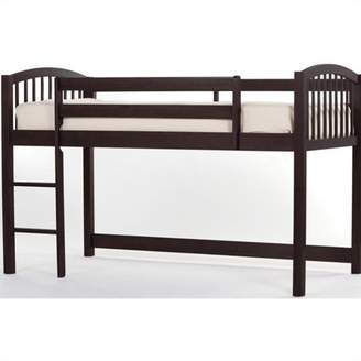 Hillsdale Kids & Teen School House Junior Loft Bed, Chocolate