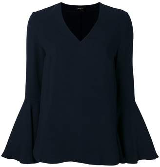 Les Copains long-sleeve flared top