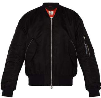 Acne Studios Makio Padded Bomber Jacket - Mens - Black
