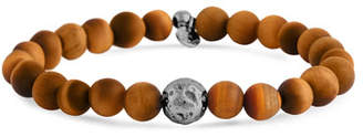 Tateossian Men's Tiger Eye & Asteroid Bracelet, Size M