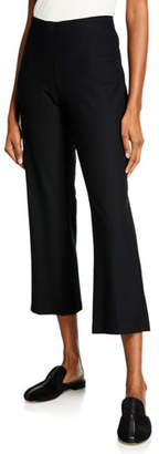 Eileen Fisher Stretch Crepe Ankle Flare Pants, Plus Size