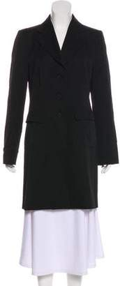 Emporio Armani Wool Knee-Length Coat