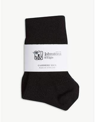 Johnstons blend ankle socks