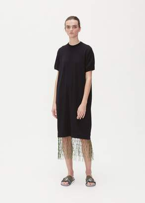TOGA Archives Short Sleeve Mesh Knit Dress