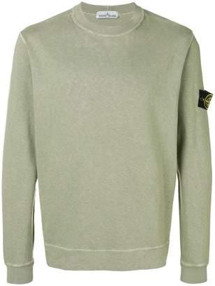 Stone Island jersey sweatshirt