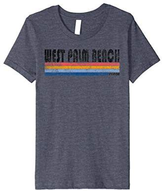 Vintage 1980s Style West Palm Beach FL T Shirt