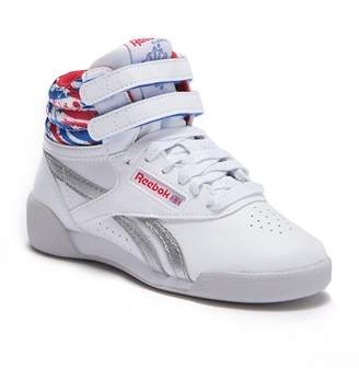 3ce664ced131 ... Reebok Free Style Hi-Top Sneaker (Little Kid)