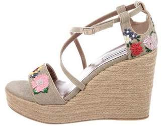 Tabitha Simmons Jenny Meadow Espadrille Wedges w/ Tags