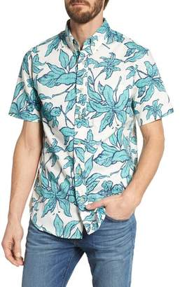 Reyn Spooner Luhiehu Tailored Fit Print Camp Shirt