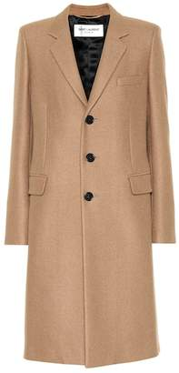 Saint Laurent Camel coat