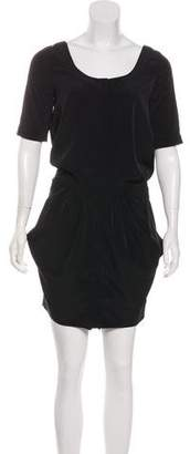 AllSaints Short Sleeve Mini Dress