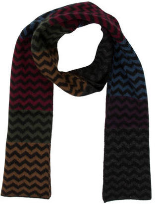 Paul Smith Wool Chevron Scarf $85 thestylecure.com