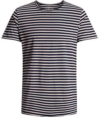 Jack and Jones Striped Short-Sleeve Cotton Tee