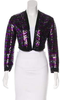Marc by Marc Jacobs Wool Embellished Jacket
