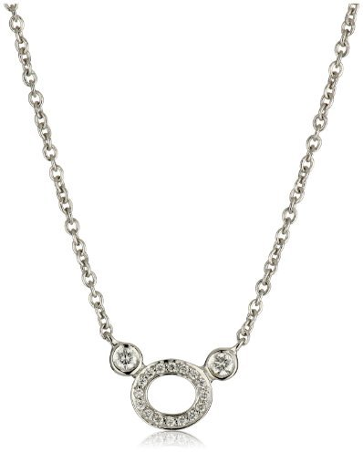 """Ivanka Trump Downtown Signature"""" Oval with Side Diamonds Necklace"""