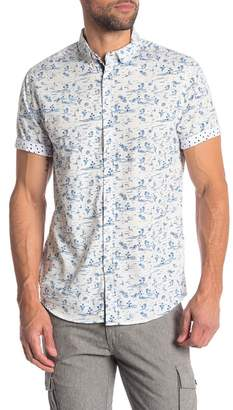Heritage Tropical Print Slim Fit Shirt