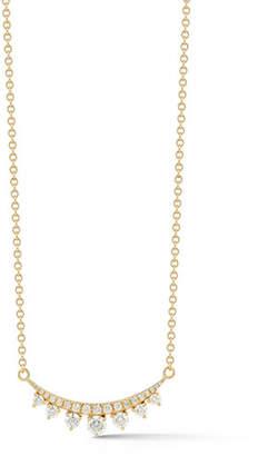 Prive Jemma Wynne Luxe Diamond Bar Necklace