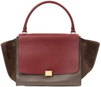 Celine Trapèze leather handbag