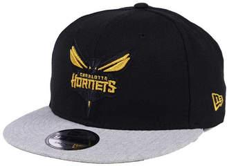 New Era Charlotte Hornets Gold Tip Off 9FIFTY Snapback Cap