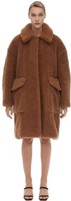 N°21 Oversized Teddy Coat