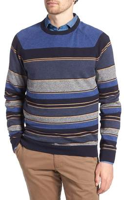 1901 Stripe Cotton & Cashmere Sweater