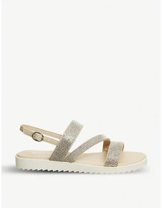 Office Shake glitter sandals