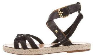 Isabel Marant Ankle-Strap Espadrille Sandals