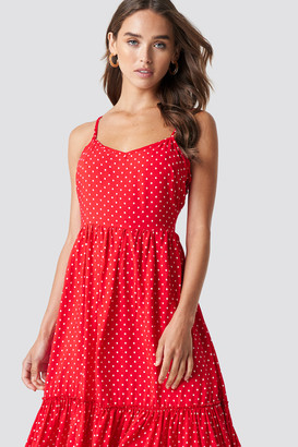 Trendyol Shoulder Strap Midi Dress