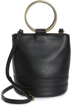 Malibu Skye Ring Handle Faux Leather Bag