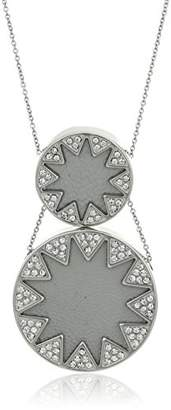 House Of Harlow Double Sunburst Pendant Necklace