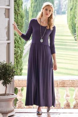 Soft Surroundings Verdot Maxi Dress