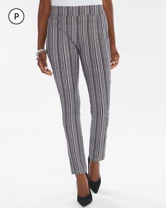 Travelers Collection Petite Striped Crepe Pants