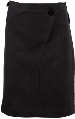 Vera Wang Black Wool Skirts