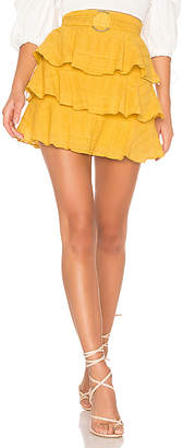 Tularosa Flora Belted Skirt