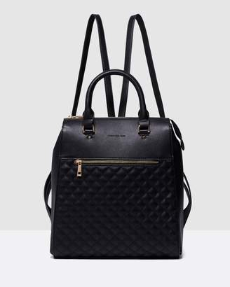 Forever New Bianca Quilted Laptop Backpack