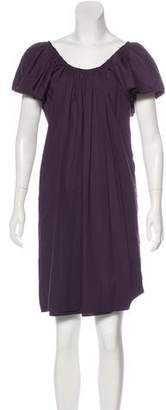 Lanvin Scoop Neck Knee-Length Dress
