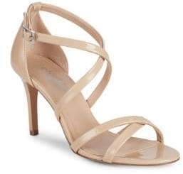 Charles by Charles David Hendrick Strappy Patent Leather Sandals